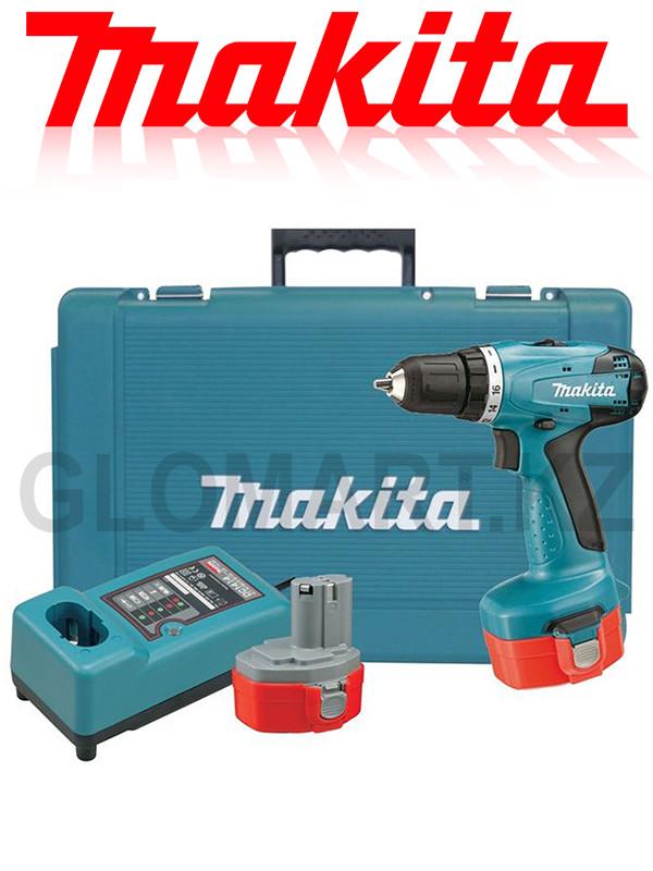 Аккумуляторный дрель-шуруповерт Makita 6281DWPE (Макита)