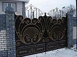 Ворота для въезда, фото 6