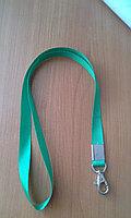 Ланъярд 15 мм зеленого цвета, фото 1
