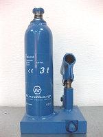 Домкрат гидравлический (бутылочный) MG-3A, 3 т