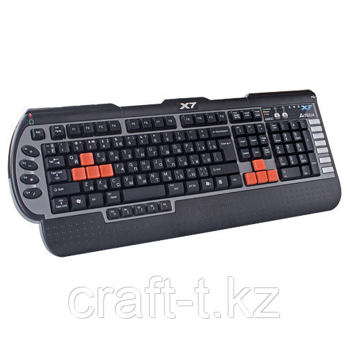 Игровая клавиатура   A4tech G800V USB 3X