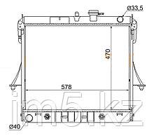 Радиатор HUMMER H3 05-