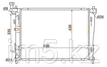 Радиатор  HYUNDAI I30 07-12