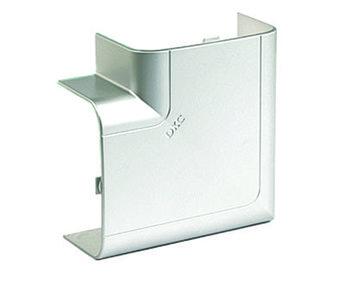 Угол плоский 110х50 мм, цвет серый металлик