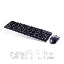 Комплект Клавиатура+мышь Delux DLD-1505OGB