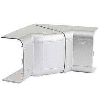 Угол внутренний 110х50 мм, изменяемый (70-120°), цвет серыйметаллик