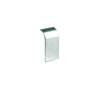 Накладка на стык профиля 140х50 мм, цвет серый металлик