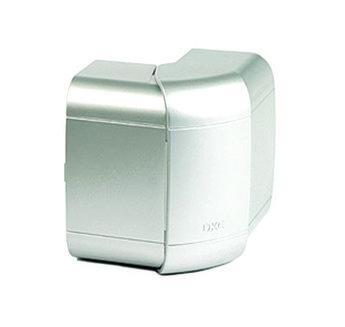 Угол внешний 140х50 мм, изменяемый (80-120°), цвет серый металлик
