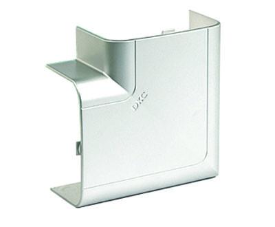Угол плоский 90х50 мм, изменяемый, цвет серый металлик