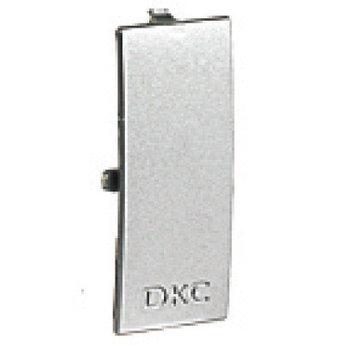 Накладка на стык крышек 60 мм, цвет серый металлик