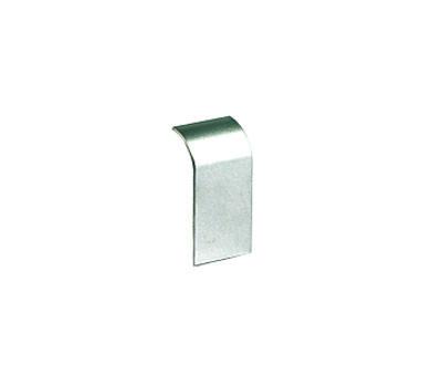 Накладка на стык профиля 90х50 мм, цвет серый металлик