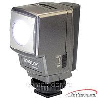 Накамерный прожектор LED-5002 + аккум.+зарядка, фото 1