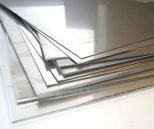 Листы из нержавеющей стали.