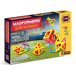 Magformers Магнитный конструктор Набор My First Tiny Friends из 20 элементов