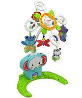 """Fisher-Price Мобиль для детской кроватки / игр на полу """"Друзья из тропического леса"""" (звук)"""