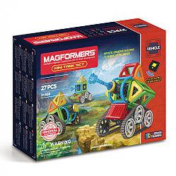 Magformers Магнитный конструктор Набор Mini Tank Set из 27 деталей