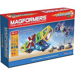 Magformers Магнитный конструктор Набор Transform Set из 54 элементов