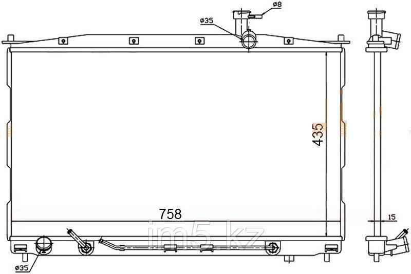 Радиатор HYUNDAI SANTA FE 06-12