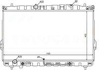 Радиатор HYUNDAI TRAJET 99-04