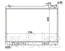 Радиатор INFINITI G35 01-07