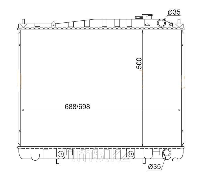 Радиатор NISSAN TERRANO/PATHFINDER R50 95-02