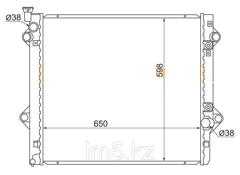 Радиатор LEXUS GX470 02-07