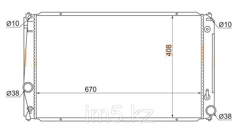 Радиатор LEXUS NX200/300H 14-