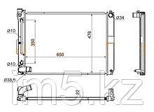 Радиатор LEXUS RX300/330/350/400H 03-08