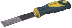 Шпательная лопатка KRAFTOOL с усиленным полотном, 2-х компонентная ручка, 75мм