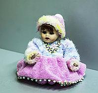 """Фигурка -сувенир """"Кукла в розовой юбке"""", 13см"""
