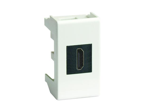 USB 2.0 розетка, Viva, белая, 1 мод.
