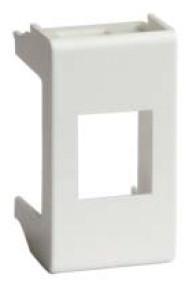 Адаптер для информационных разъемов REICHLE - DE-MASSARI, «Viva», 1 мод., белый