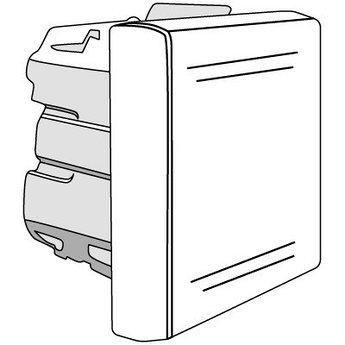 Выключатель однополюсный, «Viva», 2 мод., серый