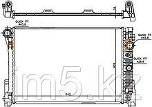 Радиатор MERCEDES GLK-CLASS X204 08-