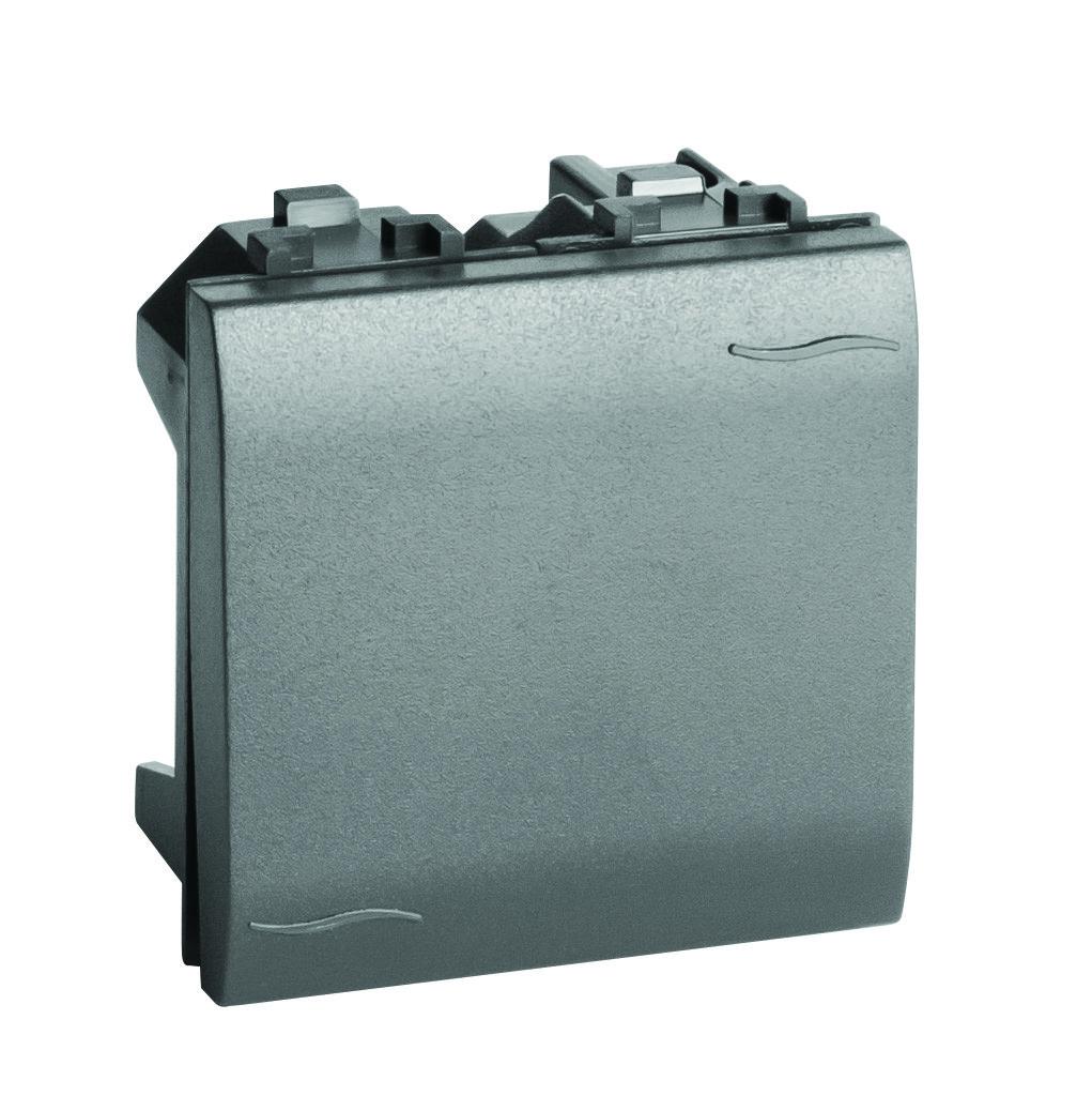 Инвертор (промежуточный переключатель), черный, 2мод.