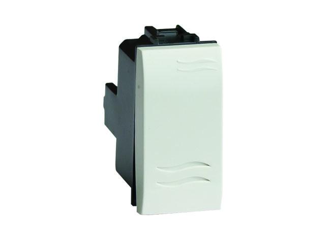 Инвертор (промежуточный переключатель), белый, 1мод.