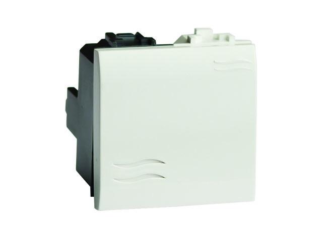 Инвертор (промежуточный переключатель), белый, 2 мод.