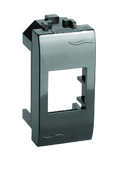 Адаптер для информационных разъемов Systimax, черный, 1мод.