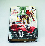 "Набор из 2-х декоративных книг-шкатулок 2 ""Париж"", 17х24х6см"