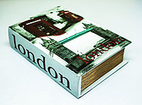 """Набор из 2-х декоративных книг-шкатулок """"Лондон"""", 17х24х6см"""