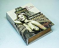 """Набор из 2-х декоративных книг-шкатулок """"Мэрилин Монро"""", 17х24х6см"""