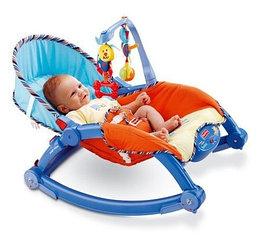 Кресло-качалка «Deluxe 2в1» Fisher Price