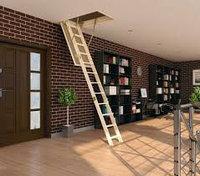 Чердачная лестница 70*130*305, фото 1