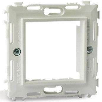 Каркас на 2 модуля (одноместный), белый, RAL 9010