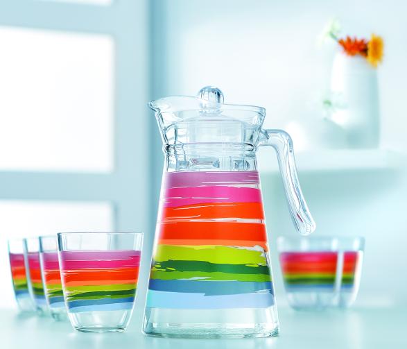 Набор питьевой Luminarc Color Pencil 7пр. (N0792)
