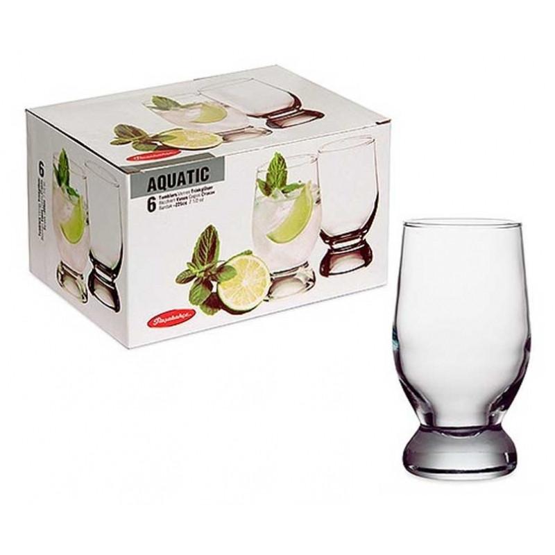 Набор стаканов Pasabahce Aquatik 315 мл, 6 шт (42975)