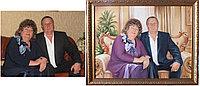 Семеиный портрет маслом. Супружеская пара