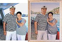 Портреты по фото в Алматы. На яхте