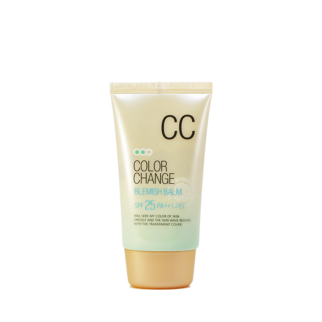 Welcos Color Change CC-cream SPF 25 PA++ Тональный СС-крем c технологией цветных капсул 50 мл