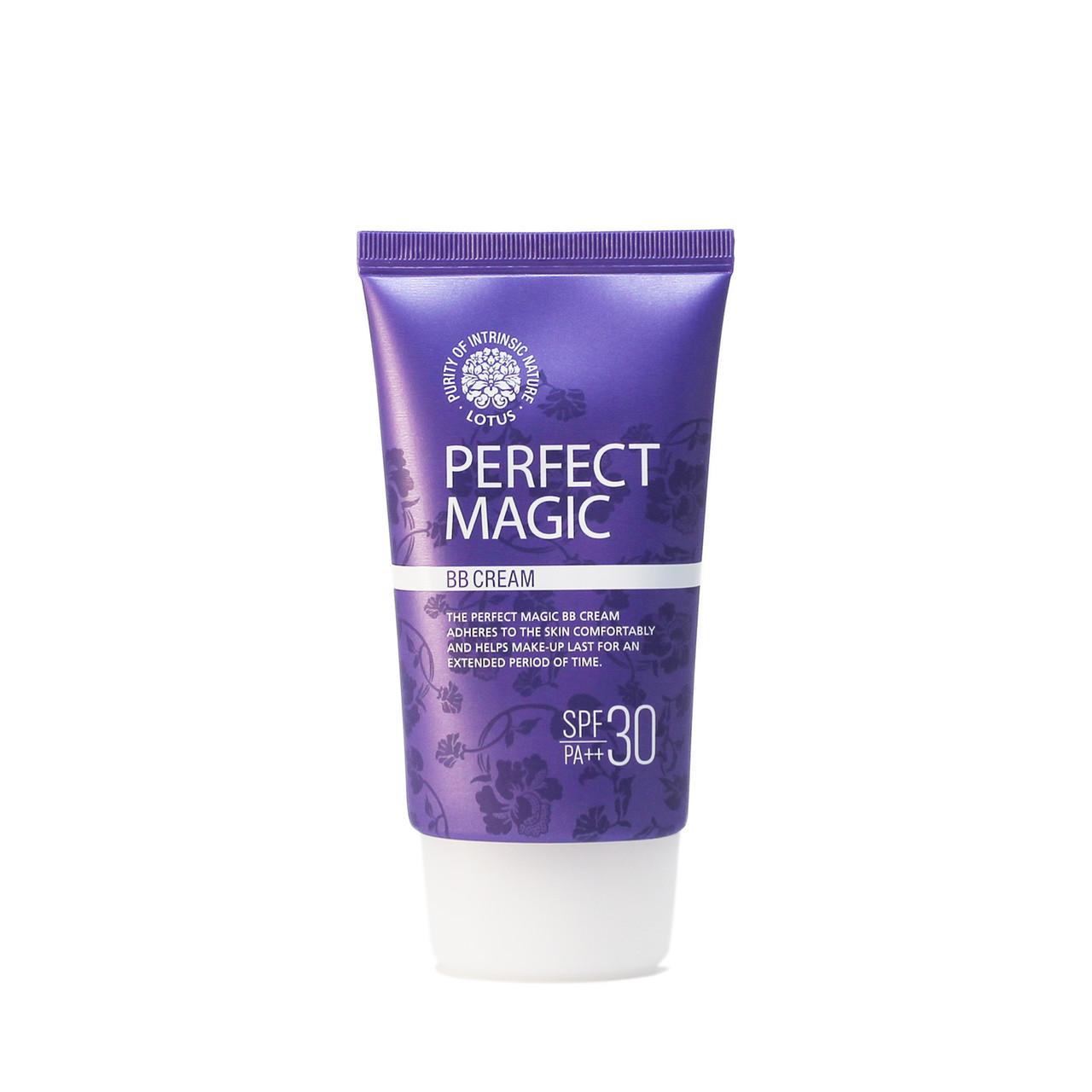 """Welcos Тональный ВВ-крем для лица """"Лотос"""" Lotus Perfect Magiс BB-Cream / 50 мл."""